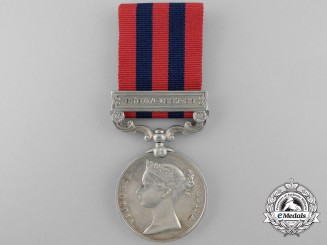An India General Service Medal to the 1st Battalion; Hampshire Regiment