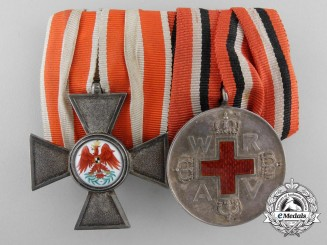 A German Imperial Pair of Awards