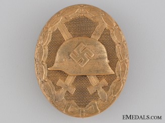 Wound Badge; Gold Grade by Marker 30