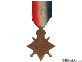 WWI 1914-1915 Star - West Yorkshire Regiment