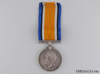 WWI British War Medal to the 1st Battalion Cape Corp; KIA