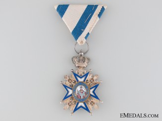 WWI Period Order of St. Sava by A. Bertrand