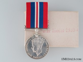 WWII Canadian War Medal 1939-1945