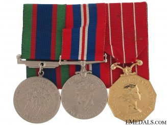 WWII Naval Veteran's Group of Three