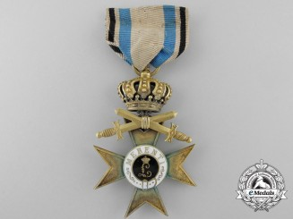A Bavarian Military Merit Cross; First Class with Swords 1913-1918