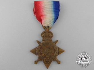 A 1914-15 Campaign Star to the Army Cyclist Corps