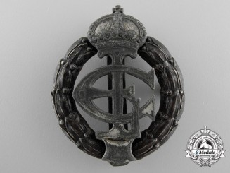 A Hesse War Honour Decoration in Iron for Twenty-Five Years' Service
