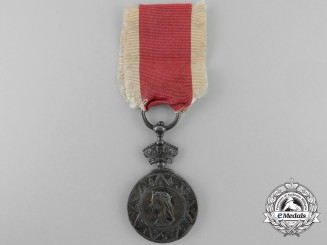 An Abyssinian War Medal 1867-1868 to the 1st Battalion; The King's Own Royal Regiment