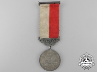 A Turkish Medal of Merit (Sanayi) 1901; Named to a Doctor