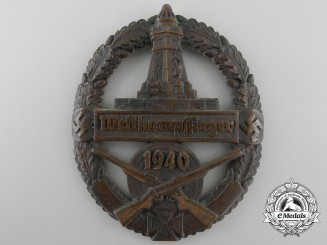 """A 1940 Veterans """"Kuffhauser"""" Shooting Competition Badge"""