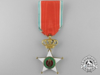 An Italian Colonial Merit Order; Officer with Crown