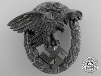 A Luftwaffe Observer's Badge by P. Meybauer, Berlin