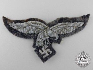 A Tunic Removed Luftwaffe Officer's Breast Eagle