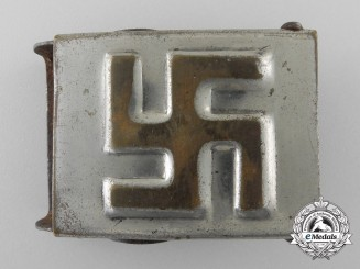 An Unofficial NSDAP Youth (NSDAP Jugend) Belt Buckle; Published Example