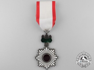 A Japanese Order of the Rising Sun; Fourth Class