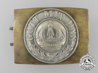 A Prussian Army Belt Buckle