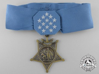 An American Navy Issue Medal of Honor; Unnamed Specimen