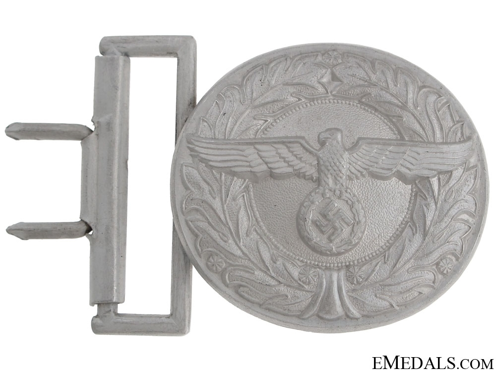 Customs & Border Protection Leader's Buckle with Belt