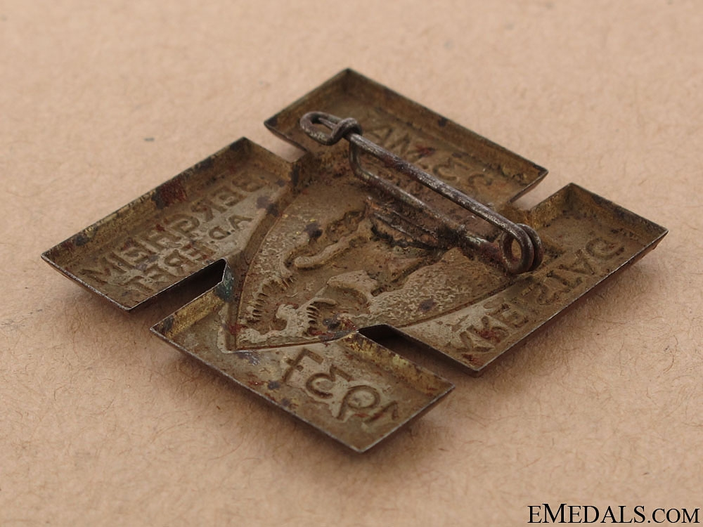 Bergheim City Council Rally Badge - May 23, 1937