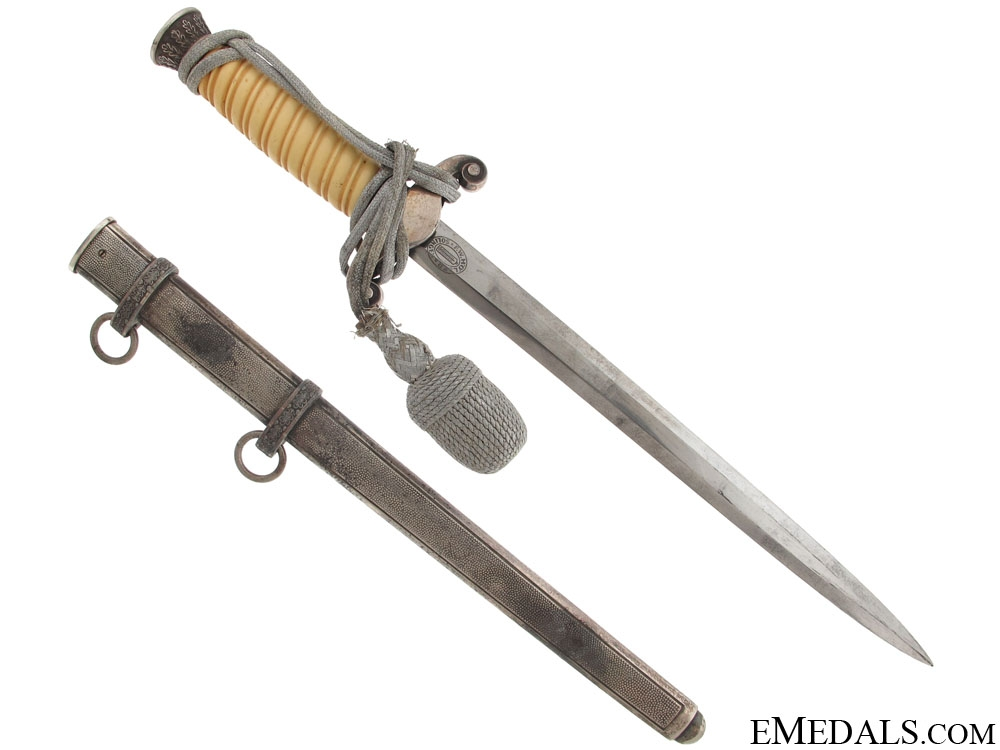 An Army Officer Dagger By Holler