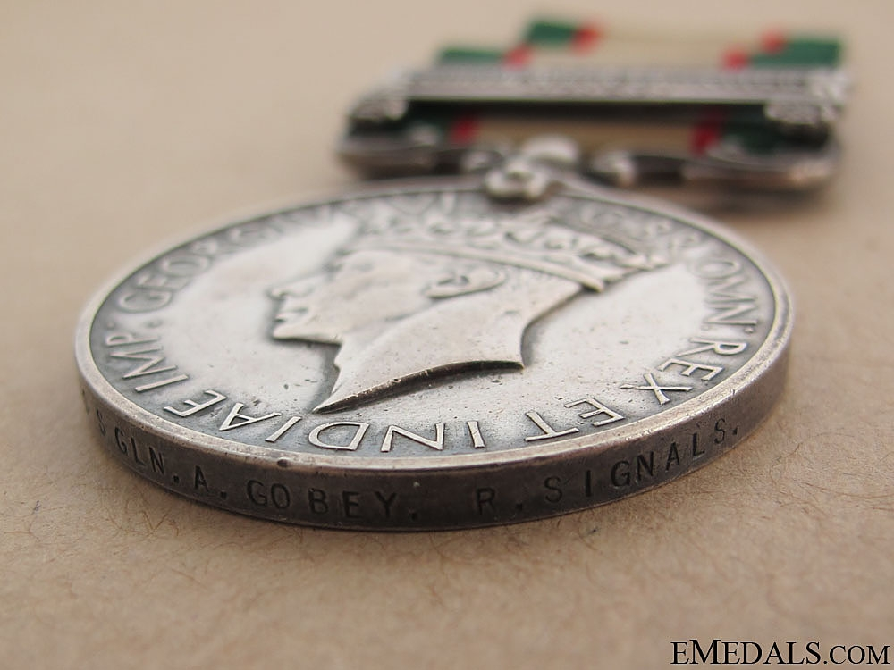 India General Service Medal 1936-39