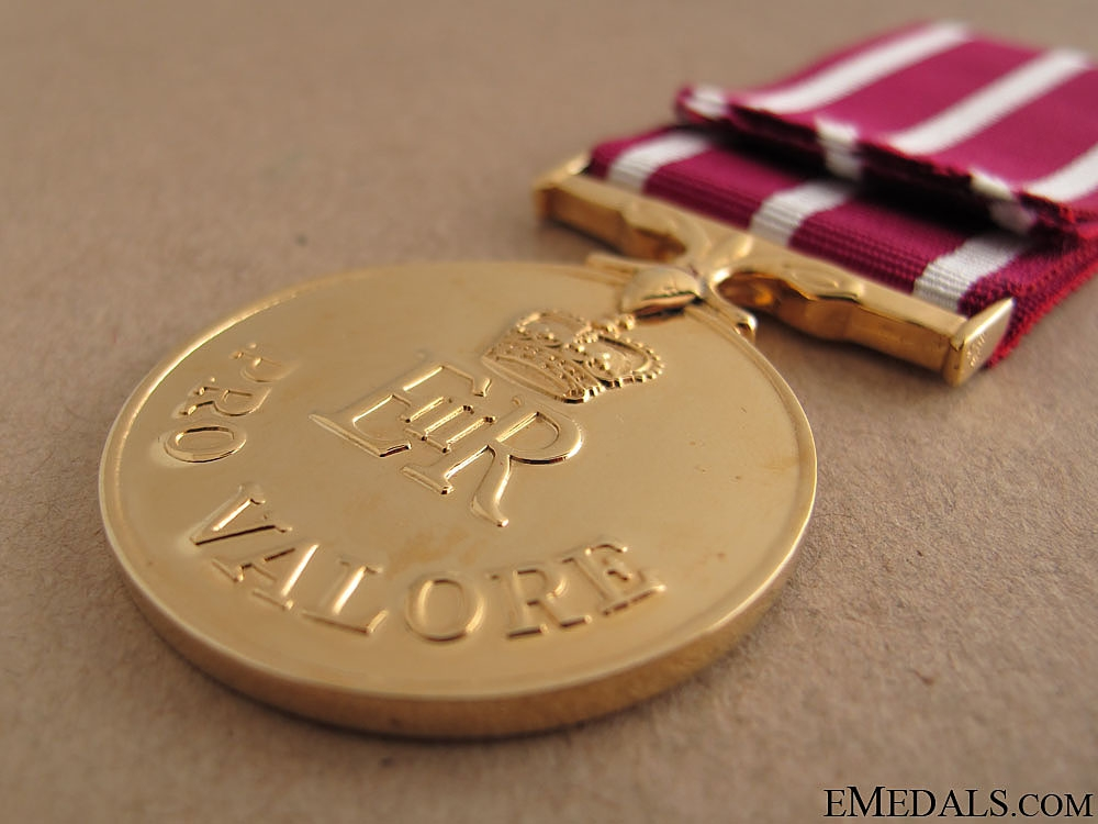 The Canadian Medal of Military Valour
