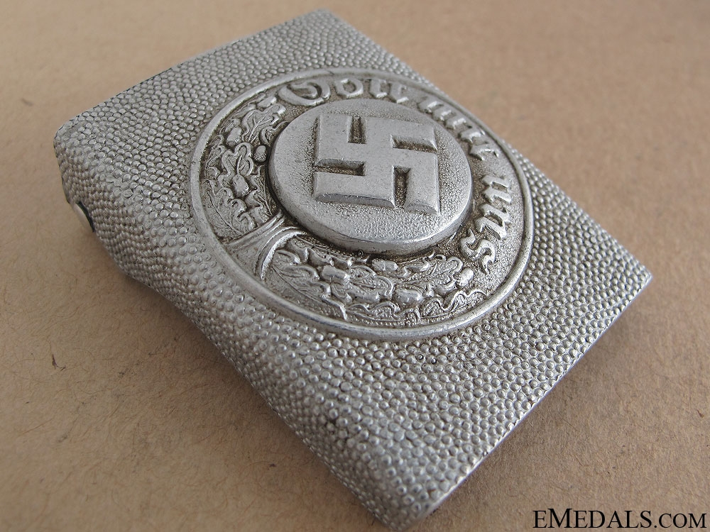 Police Other Ranks Steel Buckle by JMO