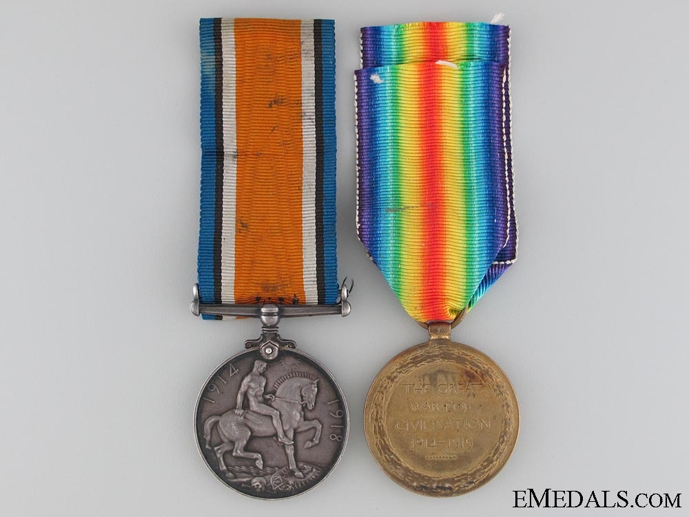 A First War Pair to the Canadian Pioneer Battalion