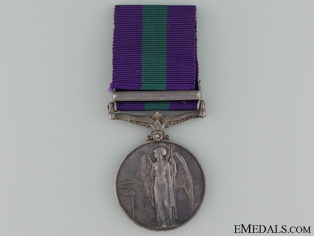 A 1918-1965 General Service Medal to the Royal Pay Corps