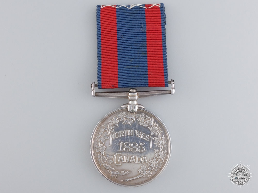 A North West Canada Medal to Hospital Corporal
