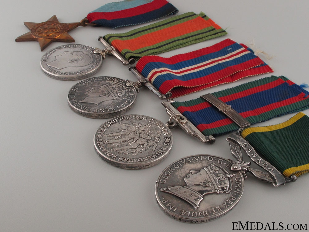 WWI Canadian Group - Killed in Enemy Air Raid