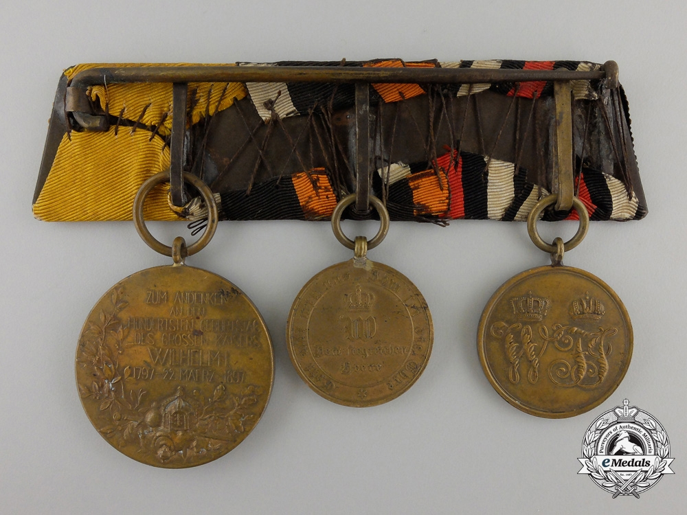 A Franco-Prussian War Medal Bar