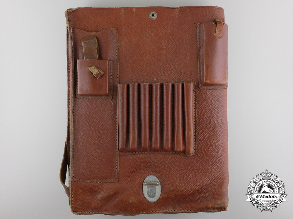 A Second War Wehrmacht Officer's Tote Case