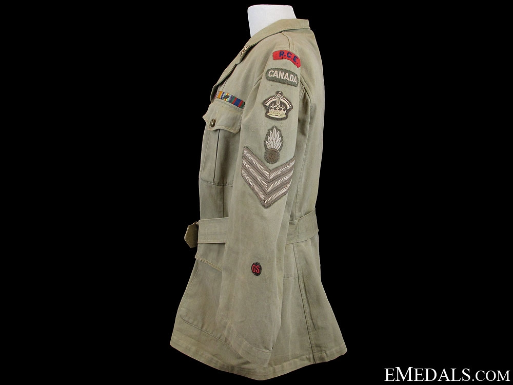 WWII Royal Canadian Engineers Tunic