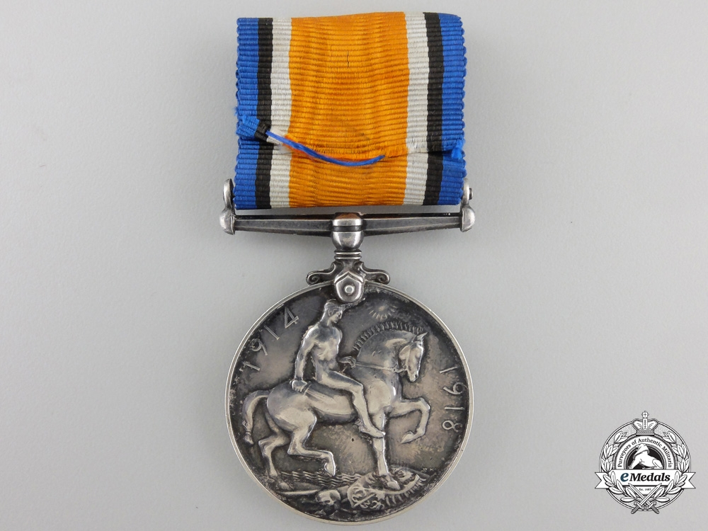 A First War Medal to theCentral Ontario Regiment