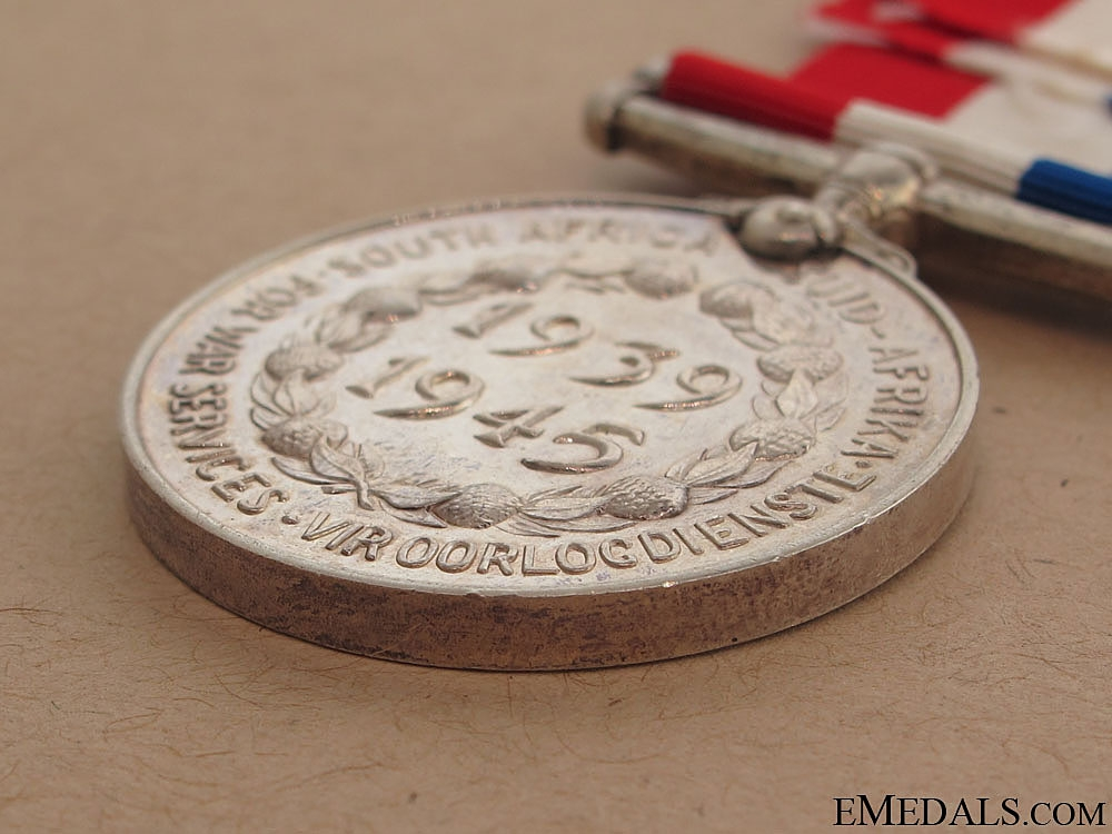 WWII South African Medal for War Service
