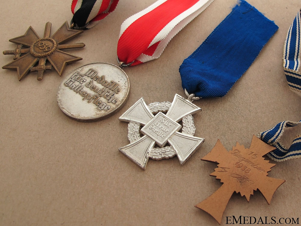 Four German Medals