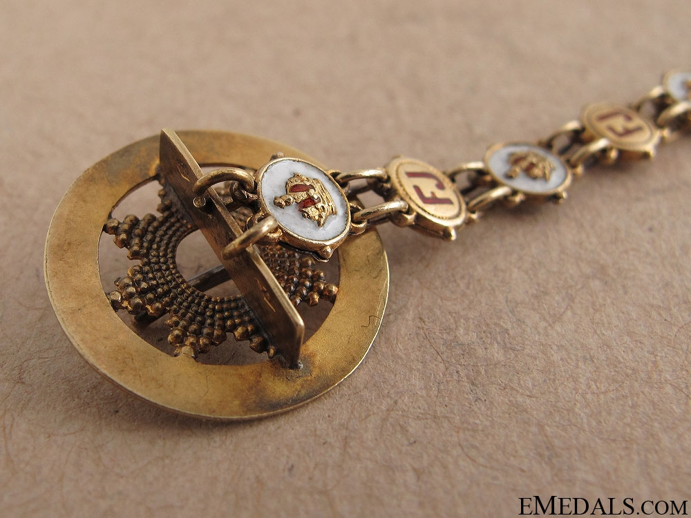 Miniature Order of Franz Joseph by Rothe