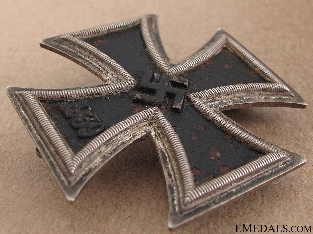 Iron Cross First Class 1939 - Double Marked