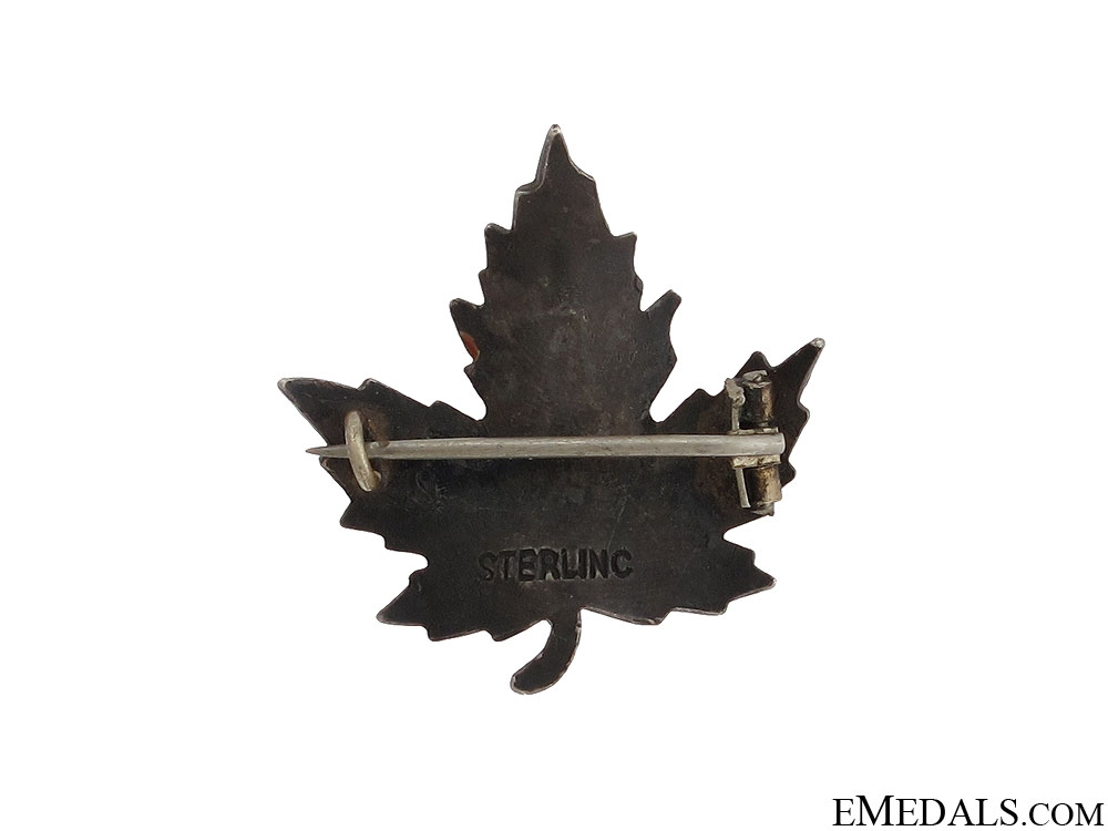 WWII Royal Canadian Corps of Signals Pin