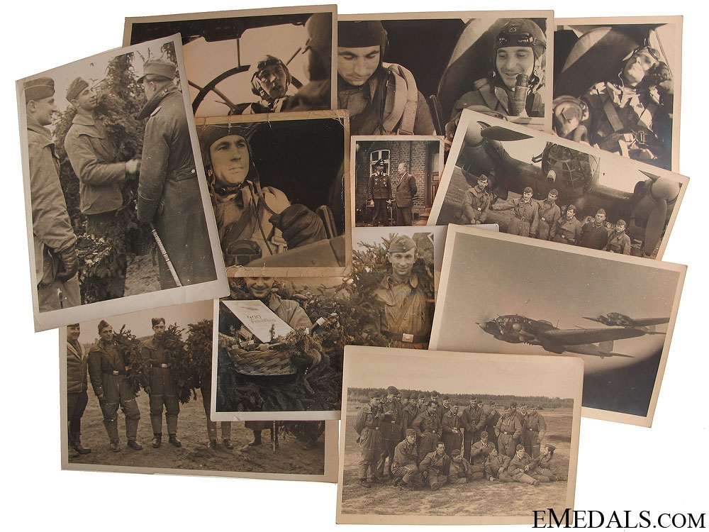 12 Luftwaffe Photos of a Bomber Crew
