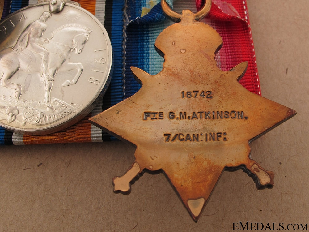 A 7th Battalion Casualty at Mount Sorrel