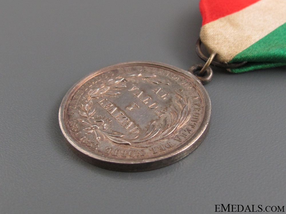1852 Defense of the Northern Boarder Medal