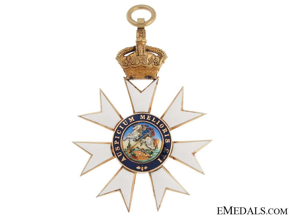 The Most Distinguished Order of St. Michael and St. George