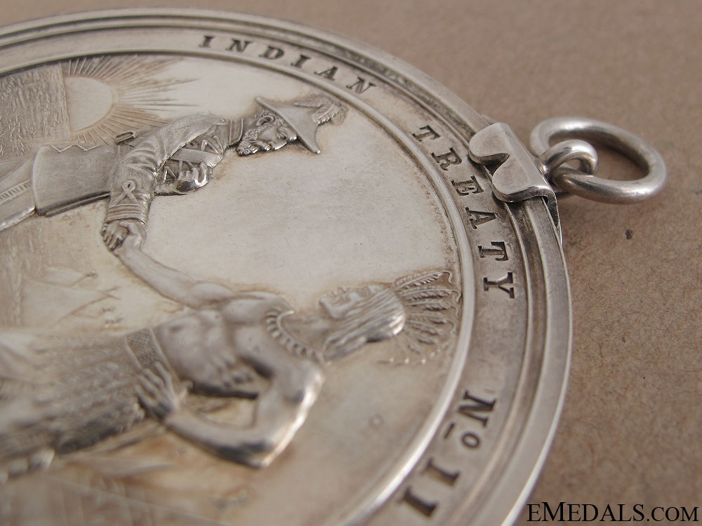 A Rare 1921 Canadian Indian Peace Medal