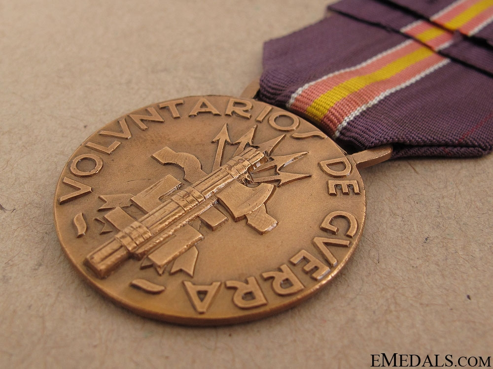 Spanish Campaign Medal 1936-1938