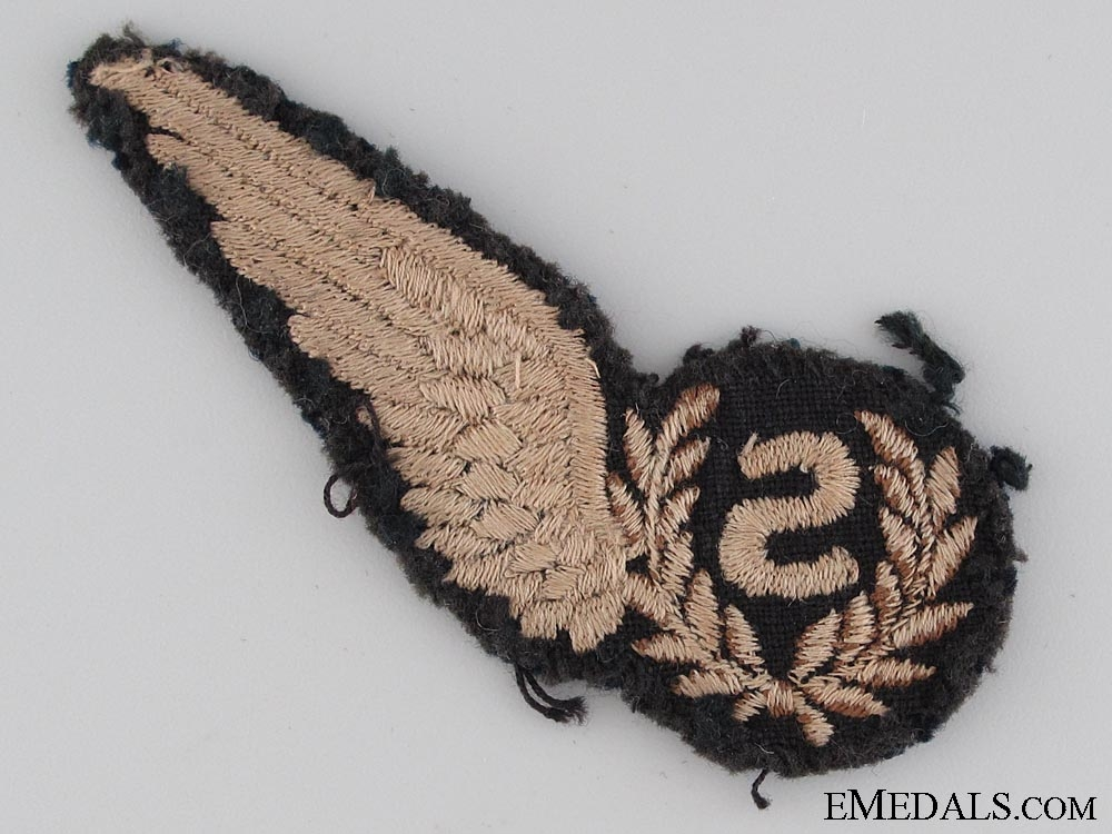 WWII Royal Air Force (RAF) Signaller Wing