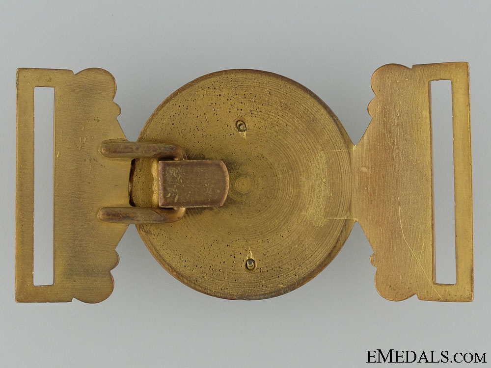 A Victorian Governor General's Foot Guards Officer's Buckle