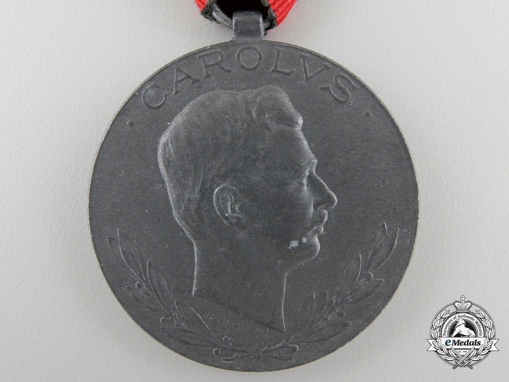A 1918 Austrian Medal for the Wounded byWinter & Adler