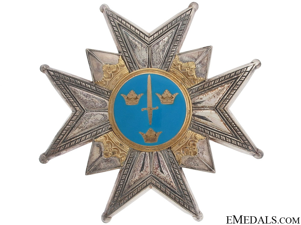 Order of the Sword - Grand Cross by C.F.Carlman